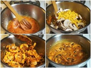 Creamy Mushroom Cashew Curry Recipe Lunch