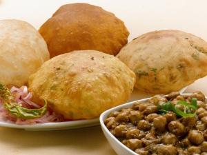 Crispy Fried Bread Bhatura Recipe Breakfast