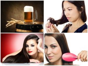 How Use Beer Shiny Hair
