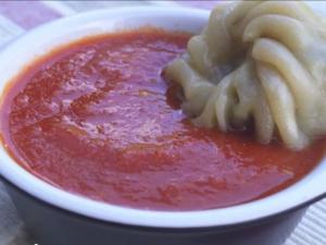 Spicy Red Chutney Recipe Momos