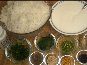 Quick Curd Rice Five Simple Steps