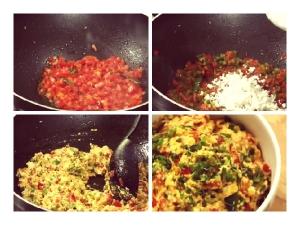 Quick Easy Paneer Capsicum Bhurji Recipe