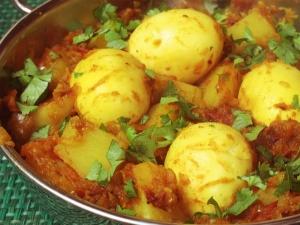 Yummy Egg Potato Curry Recipe