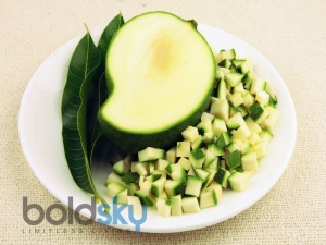 Health Benefits Green Raw Mango