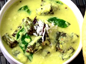 Chilli Dhahi Bhindi Fry Recipe Summer