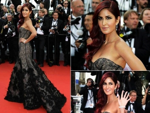Cannes 2015 Katrina Kaif Walks The Red Carpet