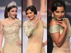 Soha Ali Khan Glamourous Look Surya Gold