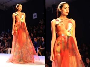 Gauri Nainika S Sparkling Swarovski Crystals Couture