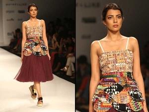 Sanchita Ajjampur S Surreal Show At The Amazon India Fashion 010530