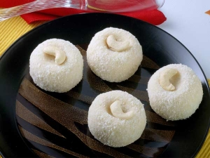 Coconut Ladoo With Condensed Milk Recipe