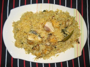 Microwave Recipe Chicken Pulao