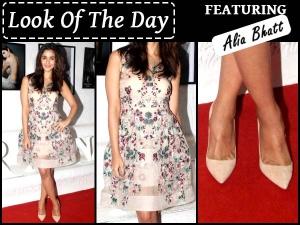 Look The Day Most Beautiful Dress Ever Worn Alia Bhatt
