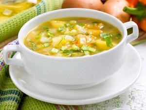 Vegetable Pepper Lemon Diet Soup Recipe