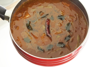 Yummy Cucumber Sambar Recipe