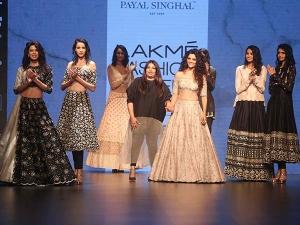Payal Singhal Collection Lakme Fashion Week Winter 2016