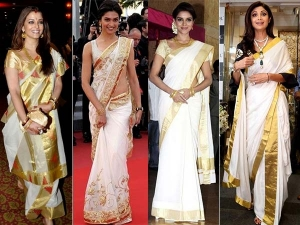 Bollywood Divas Are Mad Over The Good Old Kerala Sarees