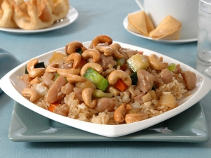 Cashew Chicken Fried Rice