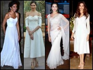 Deepika Padukone White Dresses List Top 15 Look Books