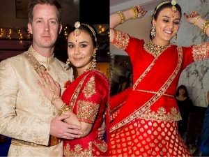 Preity Zinta Wedding Pictures Look At Her Lehenga