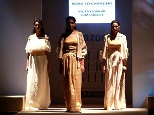 Road Chanderi Amazon India Fashion Week Ss 2017