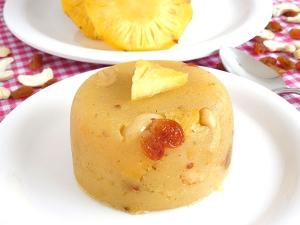 Pineapple Kesari Bath Recipe Durga Puja
