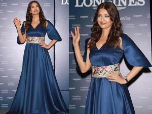 Aishwarya Rai At Launch Longines Store Noida