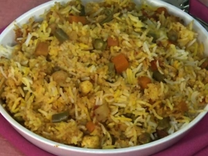 Step Step Procedure Vegetable Biryani