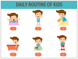 Daily Routine Your Kid