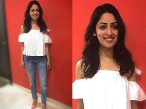 Yami Gautam Carried Casual Look For Kaabil Promotion