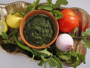 Health Benefits Pudina Chutney