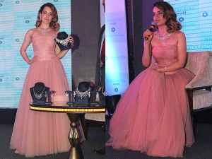 Kangana Looks Like Doll This Beautiful Blush Pink Gown