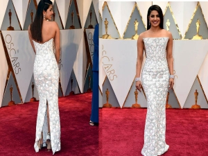 Priyanka Chopra At Oscars 2017 Red Carpet Lookbook