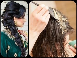 Natural Ingredients Healthy Hair