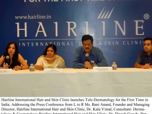 Hairline Launches Tele Dermatology The First Time India