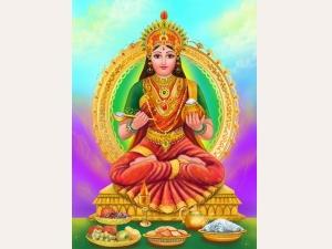 Goddess Annapoorna Devi Akshaya Tritiya