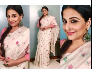 This Is How You Wear Your Summer Saree Look Vidya Balan