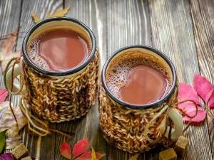 Drink Cup Tea Or Coffee Start Your Day