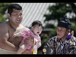What Happens Crying Sumo Festival Japan
