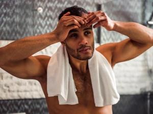 Home Remedies Treat Stubborn Pimples Men