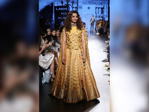 Lakme Fashion Week 2017 Radhika Apte Started The 3rd Day W