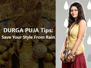 Style Tips Don T Let Rain Spoil Your Durga Puja Pandal Hoppings