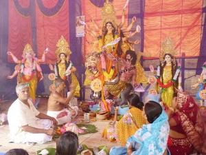 Navratri Puja Mantras Vidhi