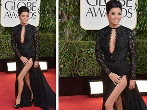Major Wardrobe Malfunctions At Golden Globe Awards