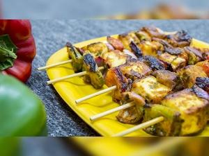 Low Calorie Paneer Tikka Recipe