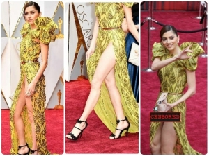 Oscars 2018 Most Embarrassing Wardrobe Malfunctions