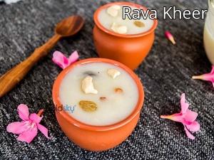 Ugadi Special Rava Payasam Recipe