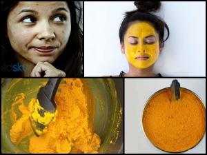 Homemade Potato Turmeric Face Mask