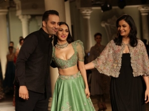 India Couture Week 2018 Kiara Advani S Modern Lehenga