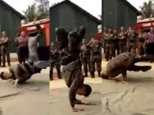 Video An Army Man Dancing Is Going Viral
