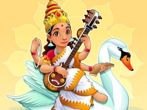 Items Associated With Goddess Saraswati